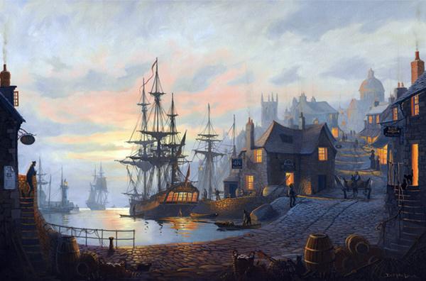 Maritime Art By St Ives Artist Donald Macleod